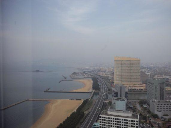 福岡タワーからの眺め